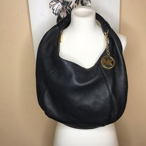 Michael Kors genuine leather slouchy hobo bag